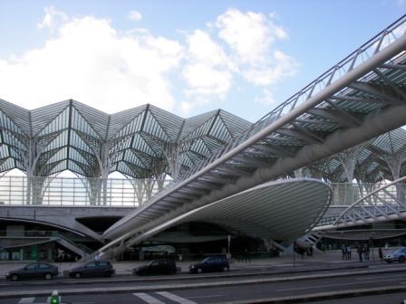 Gare de Oriente Calatrava
