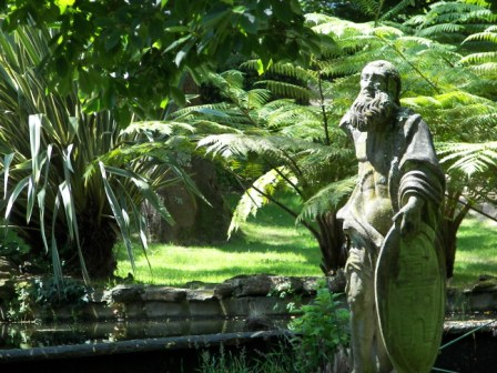 Estatua Pazo de Castrelos