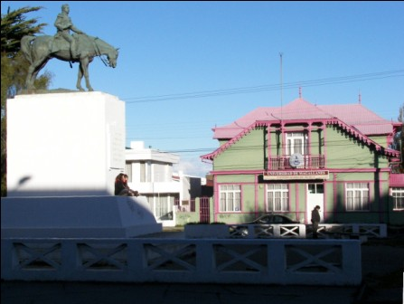 Plaza de Punta Arenas