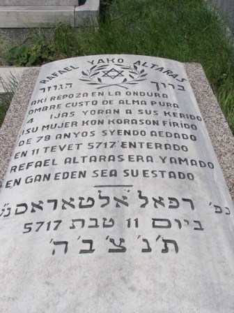 Lapida judía Estambul