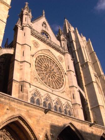 Fachada Catedral de León