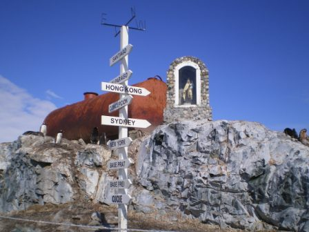 Virgen Antártida