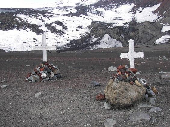 Tumbas Antártida noruegos