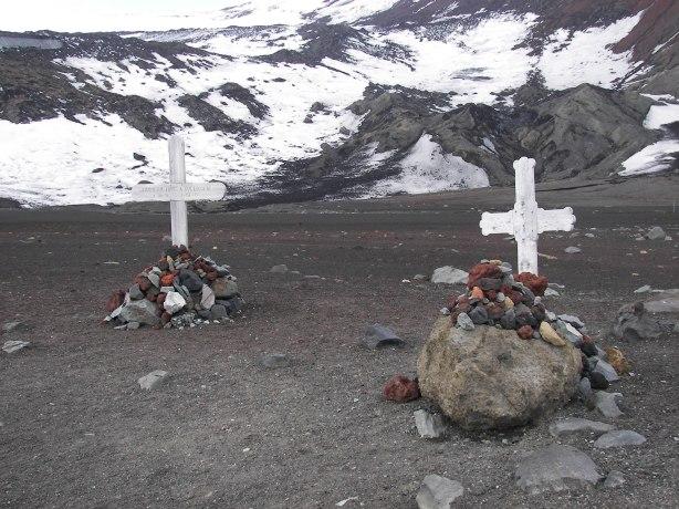 Tumbas Antártida