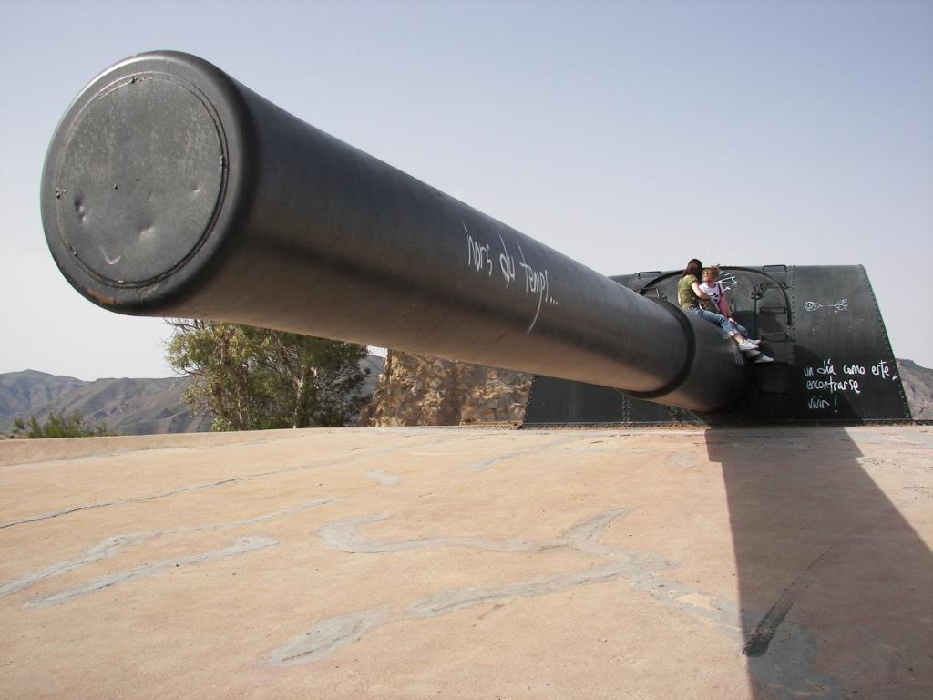 cañones vickers Cartagena