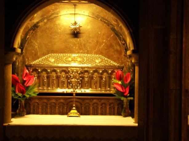 Restos del Apostol Santiago