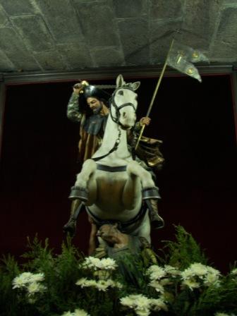 caballo blanco Santiago