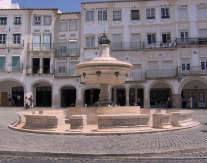 Praça do Giraldo Evora