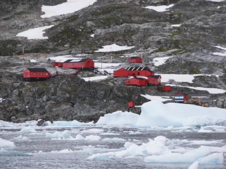 Campamento Antartico