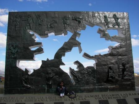 Monumento a las islas Malvinas