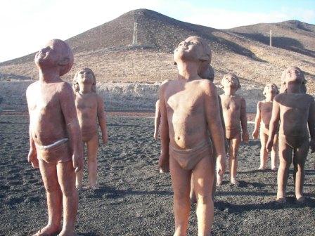 Niños de terracota Fuerteventura