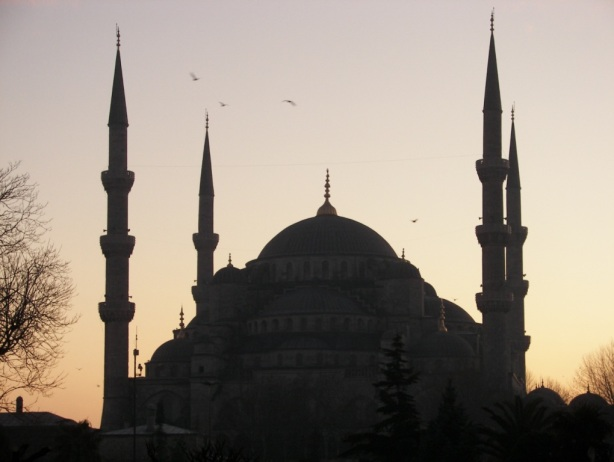 Atardecer Sultanahmet