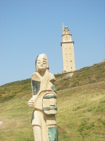 Estatua Torre de Hercules