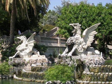 Escultura Cascada de la Ciudadela