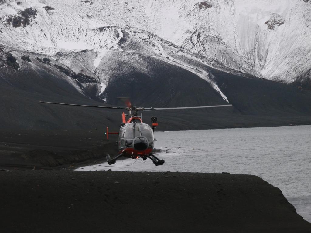 Helicóptero Isla Decepción