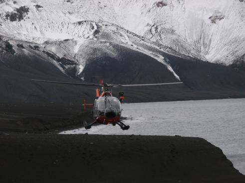 Helicoptero isla Decepción