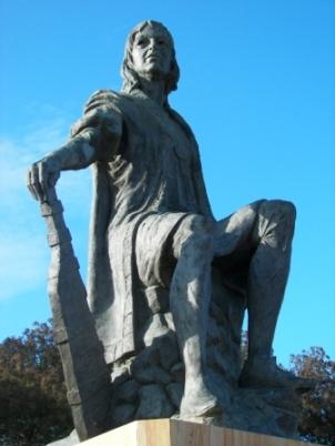 Estatua de Colón La Rabida
