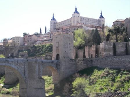Alcázar de Toledo Tajo