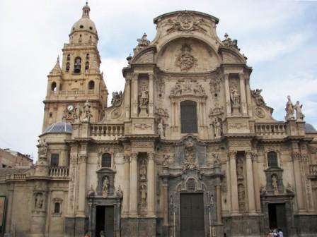 Fachada principal Catedral de Murcia