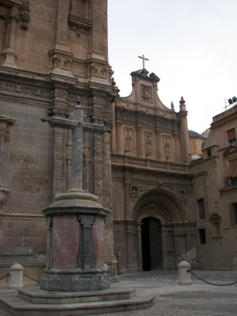 Puerta Lateral Catedral de Murcia