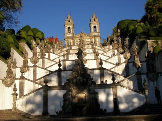 Bom Jesus en Braga
