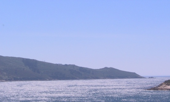 Entrada Ría de Ferrol