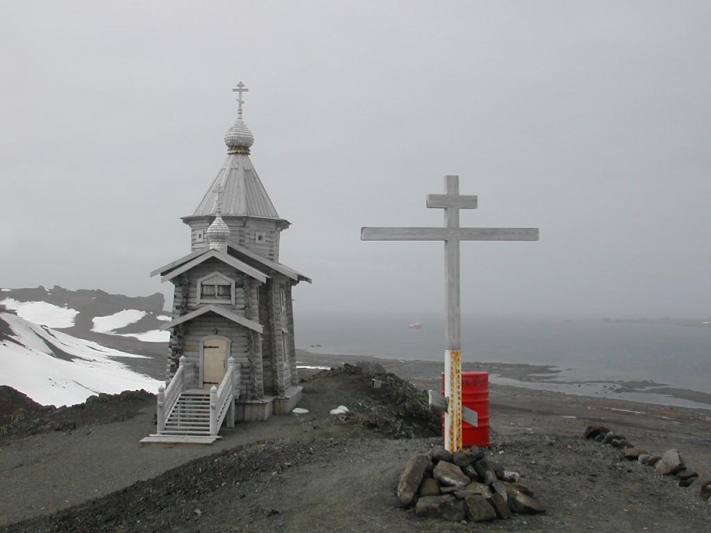 Iglesia Rusa Antártida