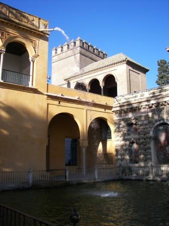 Palacio gótico Sevilla
