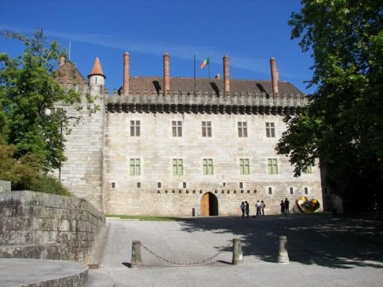 Pazo de los duques de Bragança