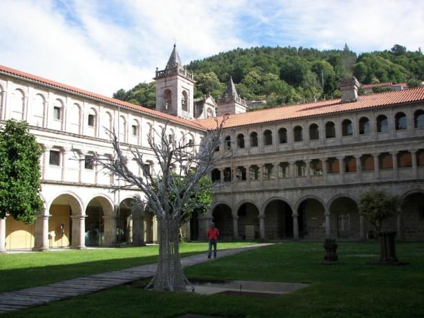 Claustro del monasterio de San Esteban