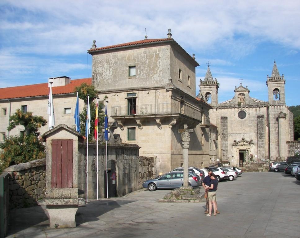 Fachada Monasterio de San Esteban