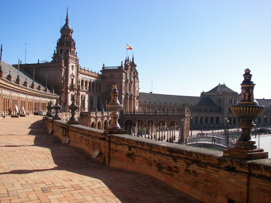 Plaza de España terraza