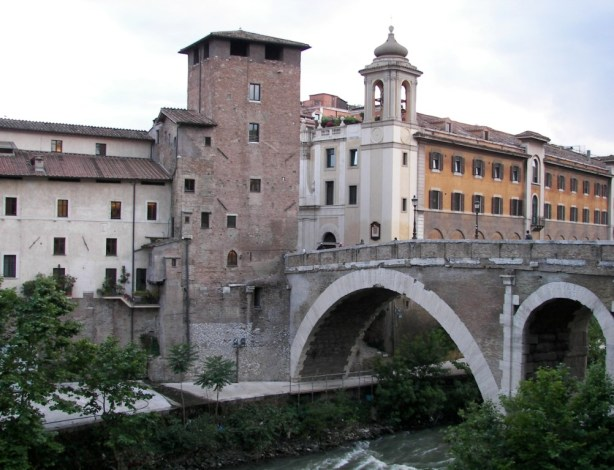 Ponte Fabricio en Roma