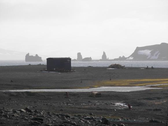 Caleta Potter Antártida