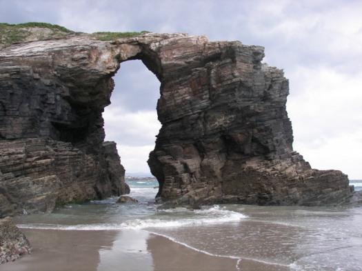 Playa de las Catedrales Foto