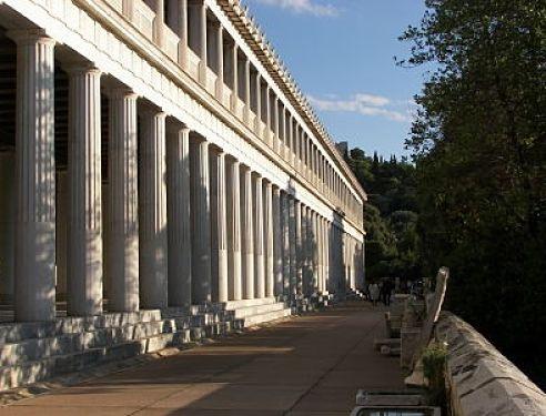 Estoa de Atalo Atenas