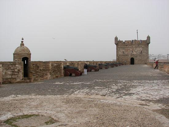 Cañones en Essaouira