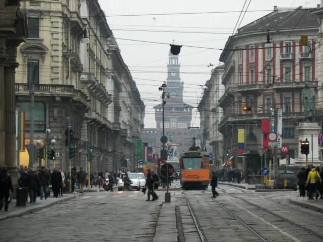 Via Dante Milan