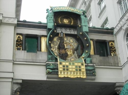 reloj de Viena