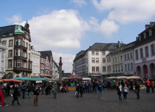 Plaza del mercado Trier