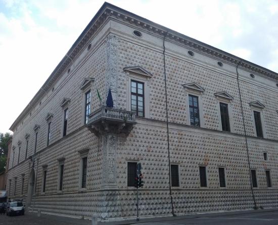 Palacio del Diamante de Ferrara  Foto: Miguel Ángel Otero Soliño