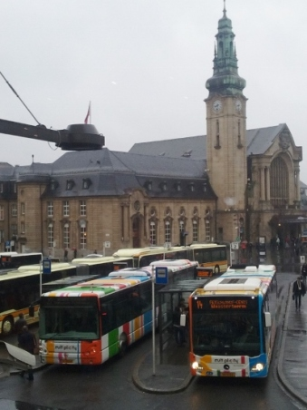 trenes de Luxemburgo
