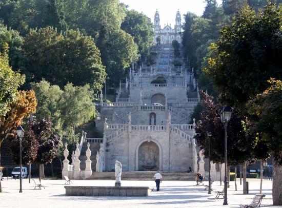 Escaleras en Lamego Portugal