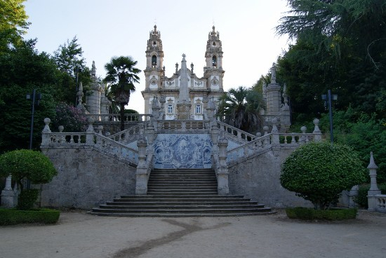 Santuario de Lamego en Portugal