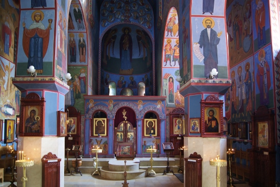 Blue monastery Tbilisi