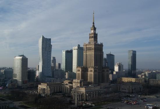 Palacio de la Cultura y la Ciencia en Varsovia