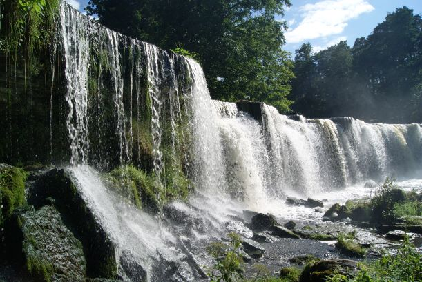 Cascada de Keila juga