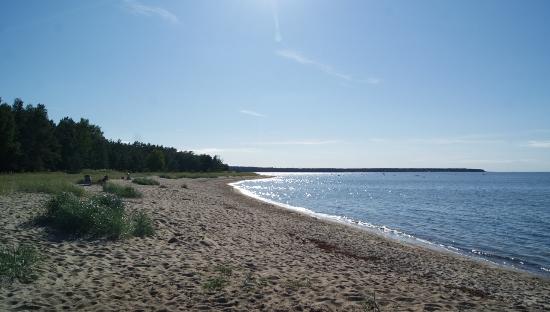 Playa en el Báltico
