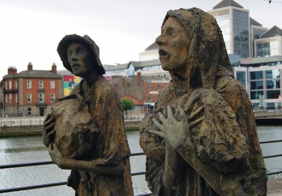 Memorial de la Gran Hambruna de Dublin