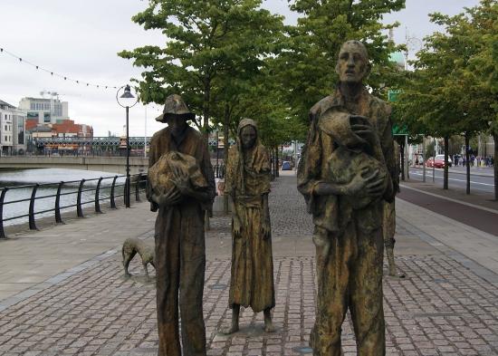 Monumento a la Gran Hambruna Irlandesa
